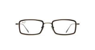 Maui Jim MJO2421 17D Antique Pewter with Translucent Grey Acetate Rim