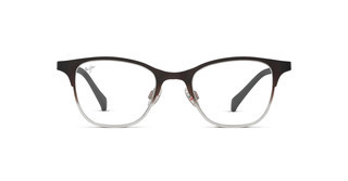 Maui Jim MJO2602 93M Matte Brown Fade to Crystal