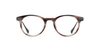 Maui Jim MJO2611 24D Chestnut Horn with Gunmental