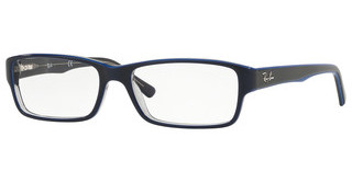 Ray-Ban RX5169 5815 TRASP GREY ON TOP BLUE