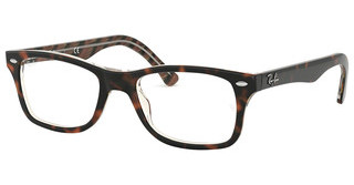 Ray-Ban RX5228 5913 TOP BLACK/DARK BROWN/YELLOW