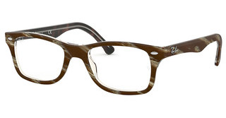 Ray-Ban RX5228 5914 TOP BROWN/RED/YELLOW