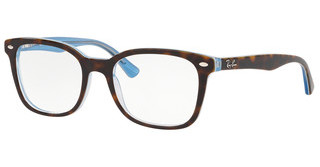 Ray-Ban RX5285 5883 TOP HAVANA ON LIGHT BLUE