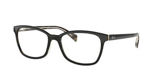 Ray-Ban RX5362 5912 TOP BLACK/DARK BROWN/YELLOW