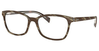 Ray-Ban RX5362 5914 TOP BROWN/RED/YELLOW