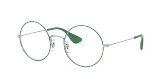 Ray-Ban RX6392 3030 SILVER ON TOP GREEN