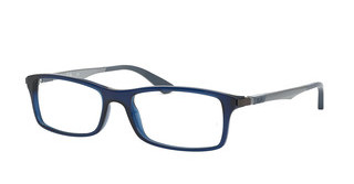 Ray-Ban RX7017 5752 TRASPARENT BLUE
