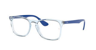 Ray-Ban RX7074 5861 TRASPARENT BLUE