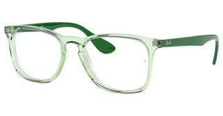 Ray-Ban RX7074 5862 TRASPARENT GREEN