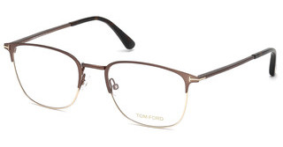 Tom Ford FT5453 049 braun dunkel matt