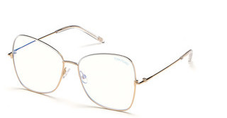 Tom Ford FT5571-B 021 weiss