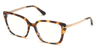 Tom Ford FT5579-B 052 havanna dunkel