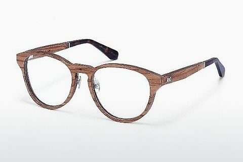 Ochelari de design Wood Fellas Wernstein (10938 zebrano)
