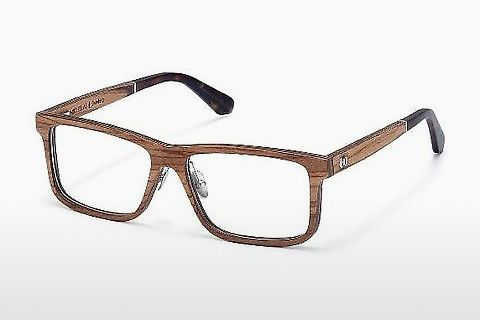 Ochelari de design Wood Fellas Eisenberg (10943 zebrano)