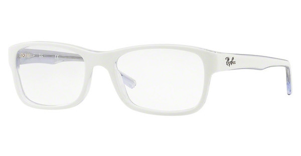 Ray-Ban   RX5268 5737 TOP WHITE ON TRASPARENT