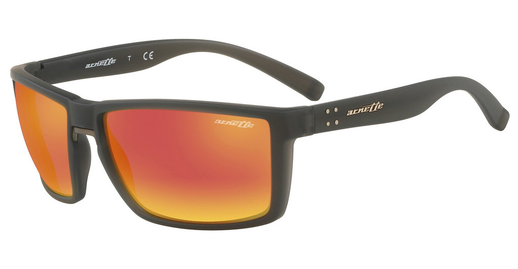Arnette   AN4253 25266Q DARK GREY MIRROR RED/YELLOWGREY RUBBER