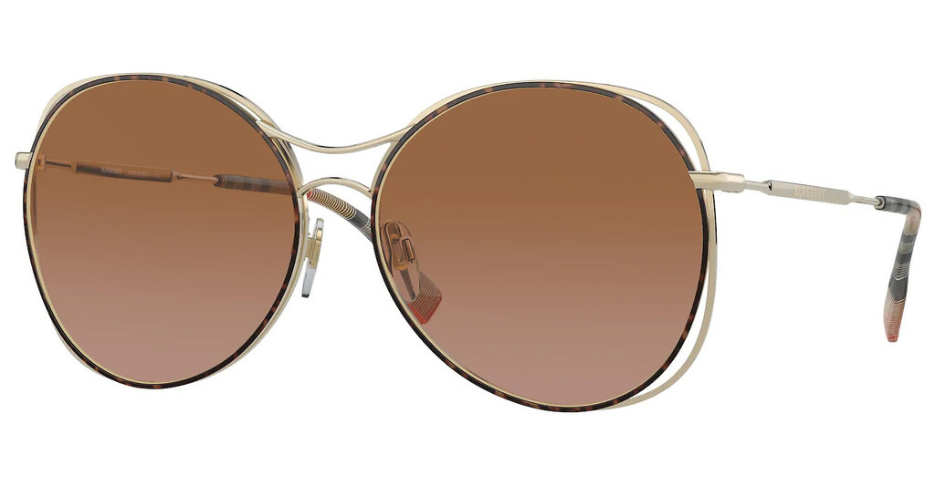 Burberry   BE3105 131213 BROWN GRADIENTLIGHT GOLD/HAVANA
