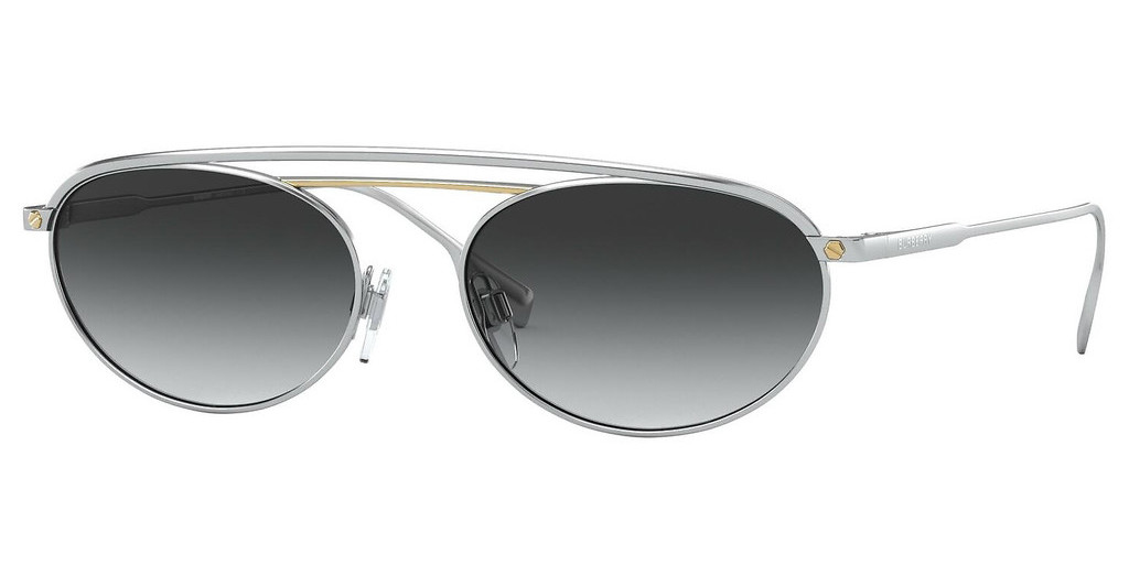 Burberry   BE3116 13038G GREY GRADIENTSILVER/GOLD