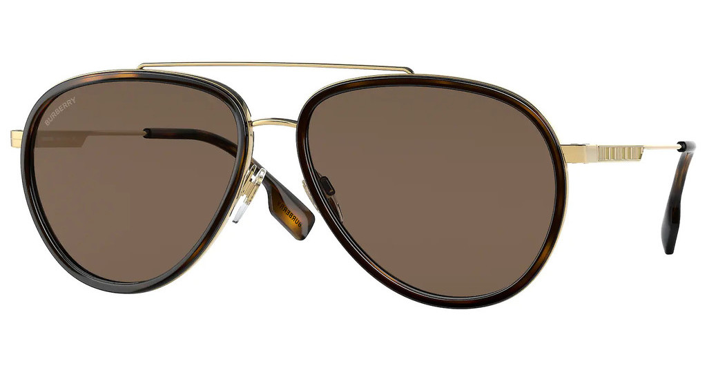 Burberry   BE3125 101773 DARK BROWNGOLD