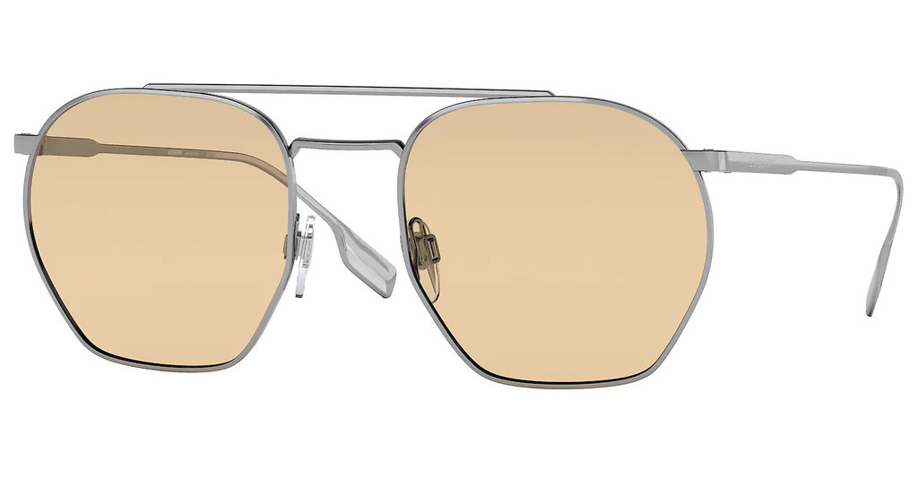 Burberry   BE3126 1003/8 LIGHT YELLOWGUNMETAL