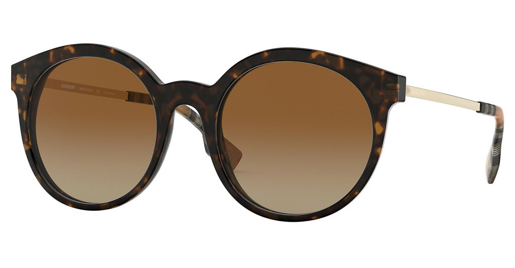Burberry   BE4296 3816T5 POLAR BROWN GRADIENTDARK HAVANA