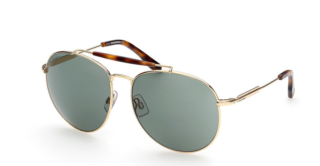 Dsquared   DQ0353 30N grüntiefes gold glanz