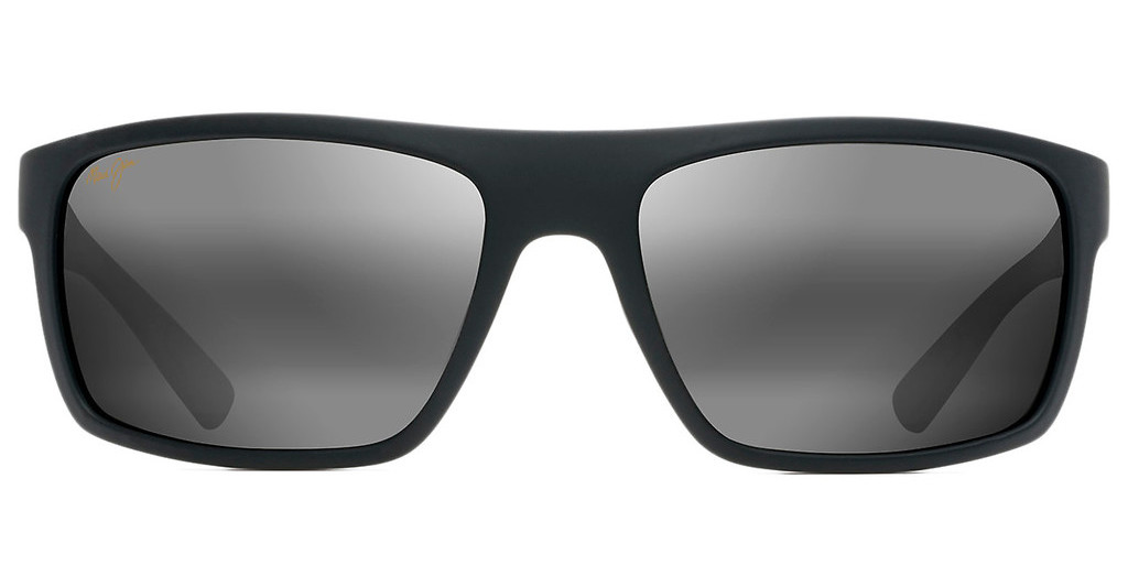 Maui Jim   Byron Bay 746-02MR Neutral GreyMatte Black Rubber