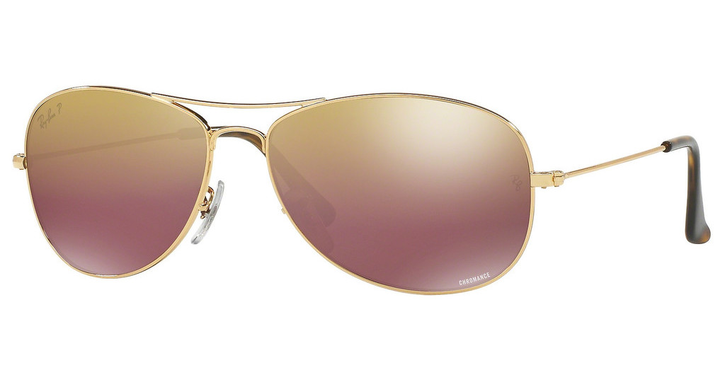 Ray-Ban   RB3562 001/6B BROWN POLAR MIRROR GOLDSHINY GOLD