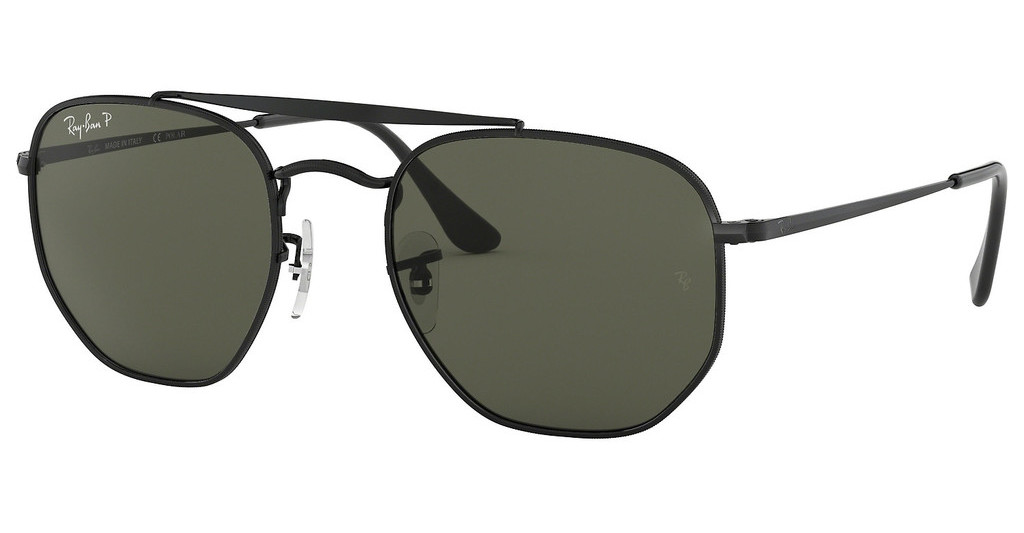Ray-Ban   RB3648 002/58 GREEN POLARIZEDBLACK