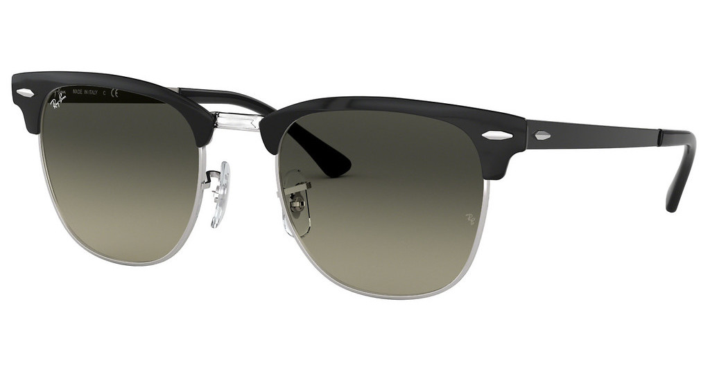 Ray-Ban   RB3716 900471 LIGHT GREY GRADIENT DARK GREYSILVER TOP BLACK