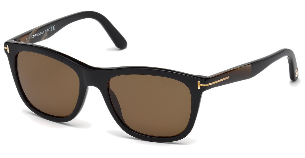 Tom Ford   FT0500 01H braun polarisierendschwarz glanz