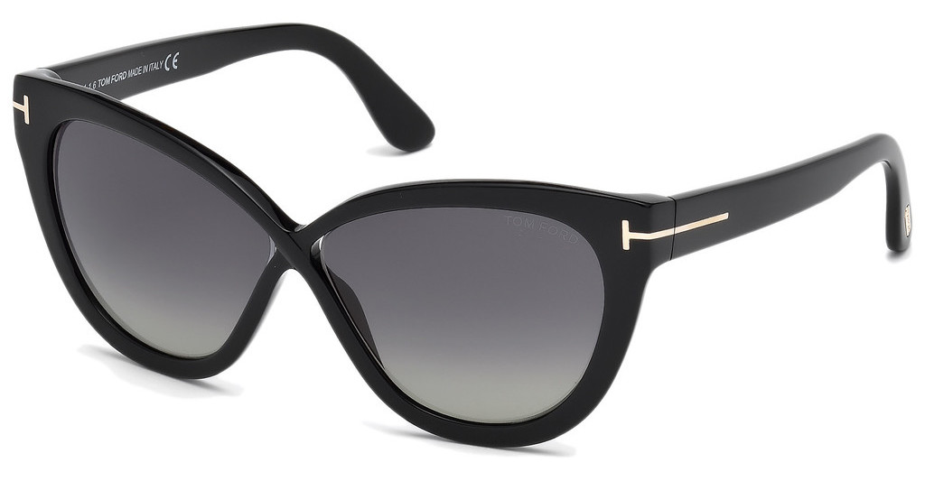 Tom Ford   FT0511 01D grau polarisierendschwarz glanz