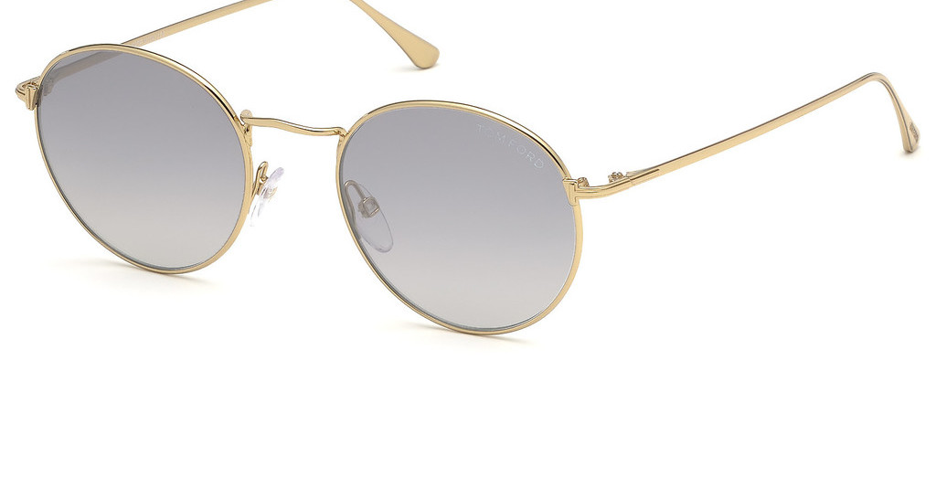 Tom Ford   FT0649 30C grau verspiegelttiefes gold glanz