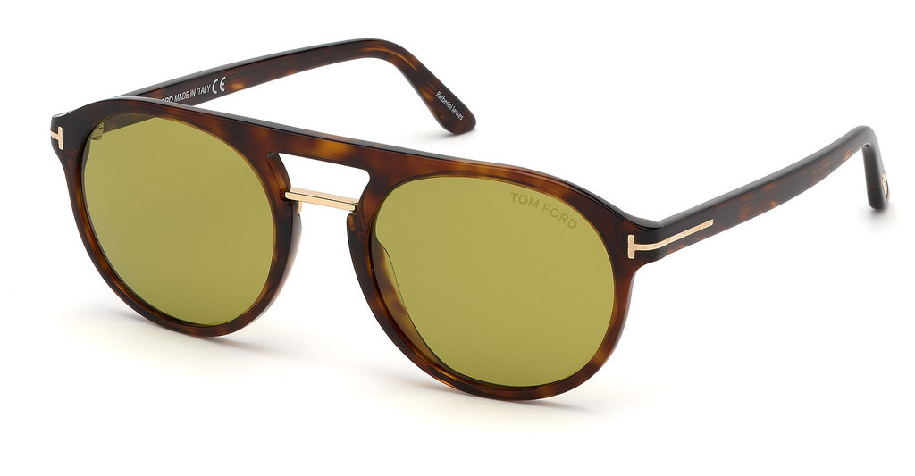 Tom Ford   FT0675 54N grünhavanna rot