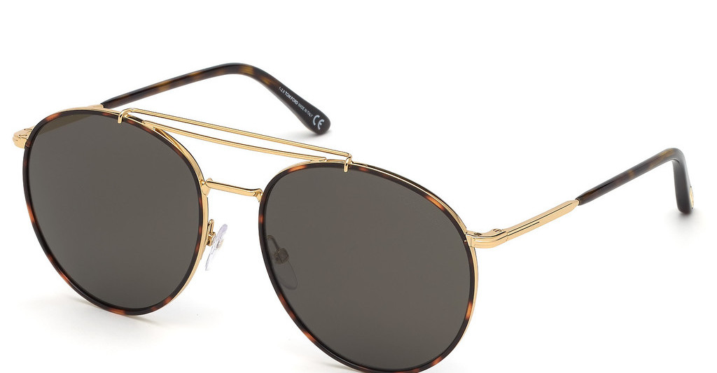 Tom Ford   FT0694 30A grautiefes gold glanz
