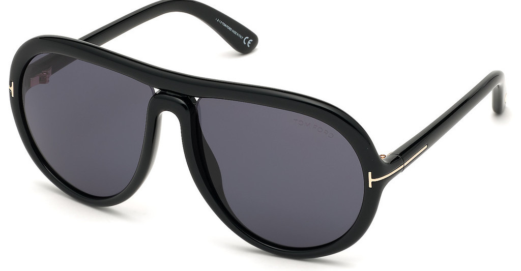 Tom Ford   FT0768 01A grauschwarz glanz