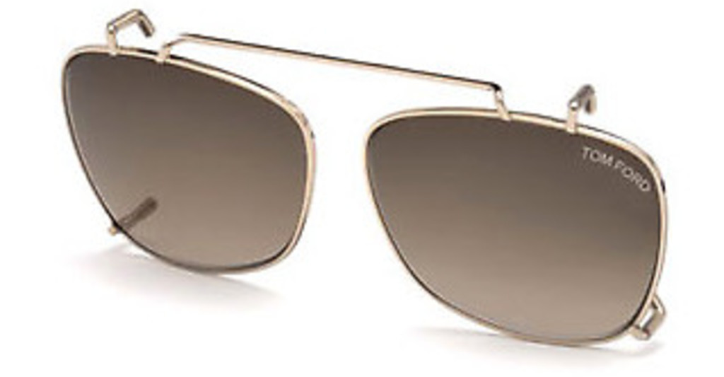 Tom Ford   FT5514-CL 28K roviex verlaufendrosé-gold glanz