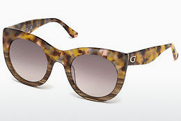 Ochelari oftalmologici Guess GU7485 53F - Havana, Yellow, Blond, Brown