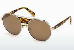 Ochelari oftalmologici Just Cavalli JC828S 53G - Havana, Yellow, Blond, Brown