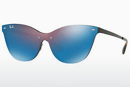 Ochelari oftalmologici Ray-Ban Blaze Cat Eye (RB3580N 153/7V) - Purpuriu