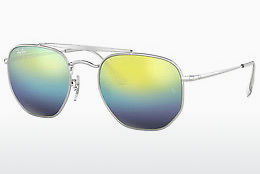 Ochelari oftalmologici Ray-Ban THE MARSHAL (RB3648 003/I2) - Argintiu