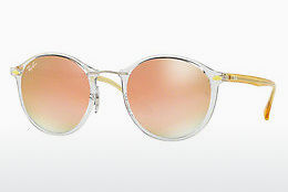 Ochelari oftalmologici Ray-Ban Round Ii Light Ray (RB4242 6288B9) - Transparent
