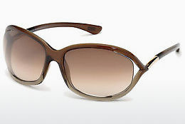 Ochelari oftalmologici Tom Ford Jennifer (FT0008 38F) - Bronz