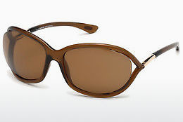 Ochelari oftalmologici Tom Ford Jennifer (FT0008 48H) - Maro, Dark, Shiny