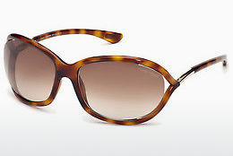 Ochelari oftalmologici Tom Ford Jennifer (FT0008 52F) - Maro, Dark, Havana