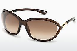 Ochelari oftalmologici Tom Ford Jennifer (FT0008 692) - Maro, Dark, Shiny
