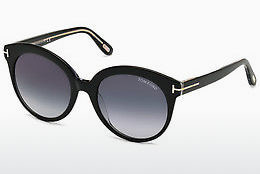 Ochelari oftalmologici Tom Ford Monica (FT0429 03W) - Negru, Transparent