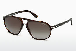 Ochelari oftalmologici Tom Ford Jacob (FT0447 52B) - Maro, Dark, Havana