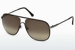 Ochelari oftalmologici Tom Ford Dominic (FT0451 49K) - Maro, Dark, Matt