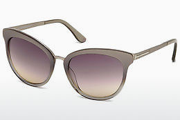 Ochelari oftalmologici Tom Ford Emma (FT0461 59B) - Fildeş, Beige, Brown